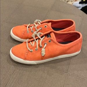 Salmon color Sperry Women's Size 7